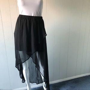 Xhilaration Black Skirt